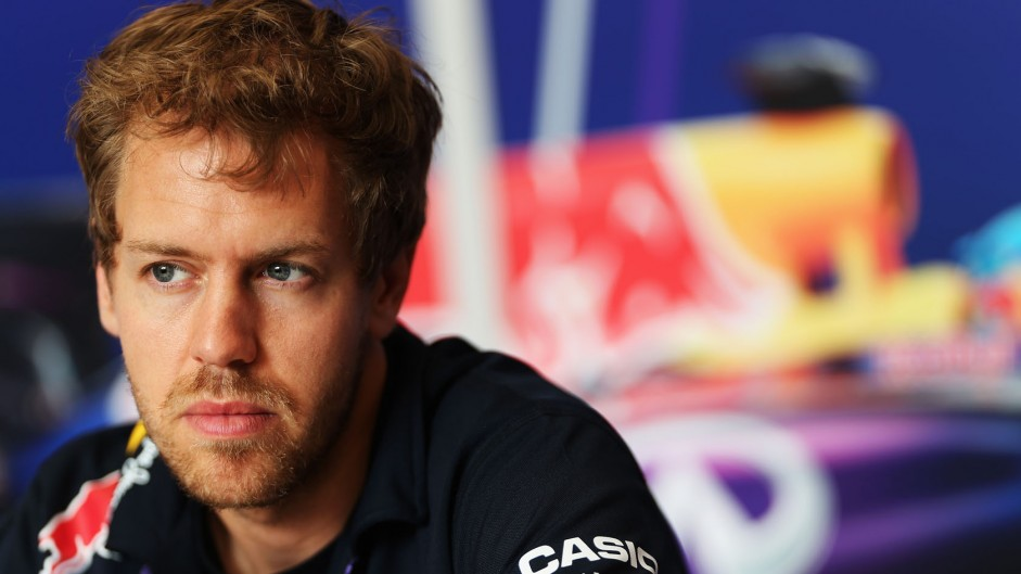 Sebastian Vettel, Red Bull, Bahrain International Circuit, 2014
