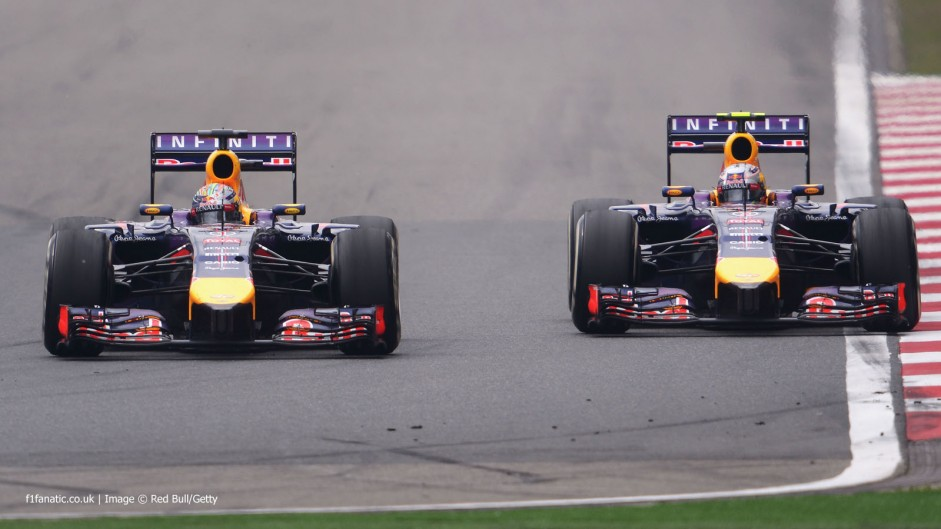 Ricciardo happy to have gone up against Vettel