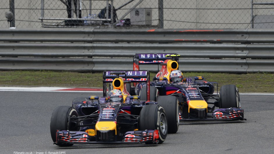 2014 Chinese Grand Prix team radio transcript