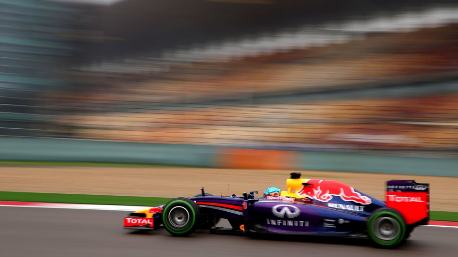 Sebastian Vettel, Red Bull, Shanghai International Circuit, 2014