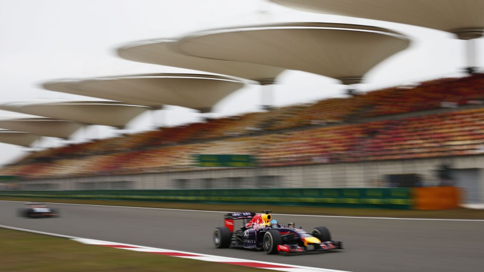 Sebastian Vettel, Red Bull, Shanghai International Circuit, 2014