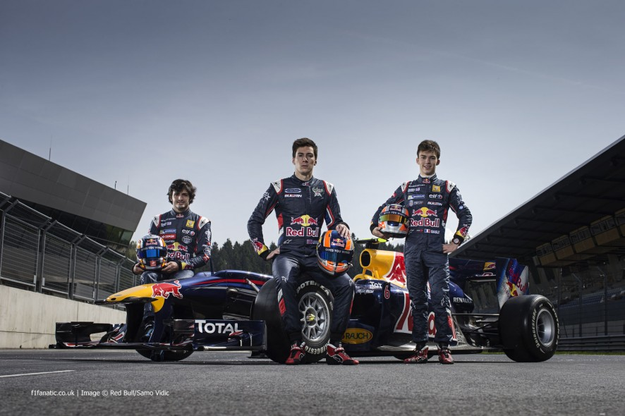 Carlos Sainz Jnr, Alex Lynn, Pierre Gasly, Red Bull Ring, 2014