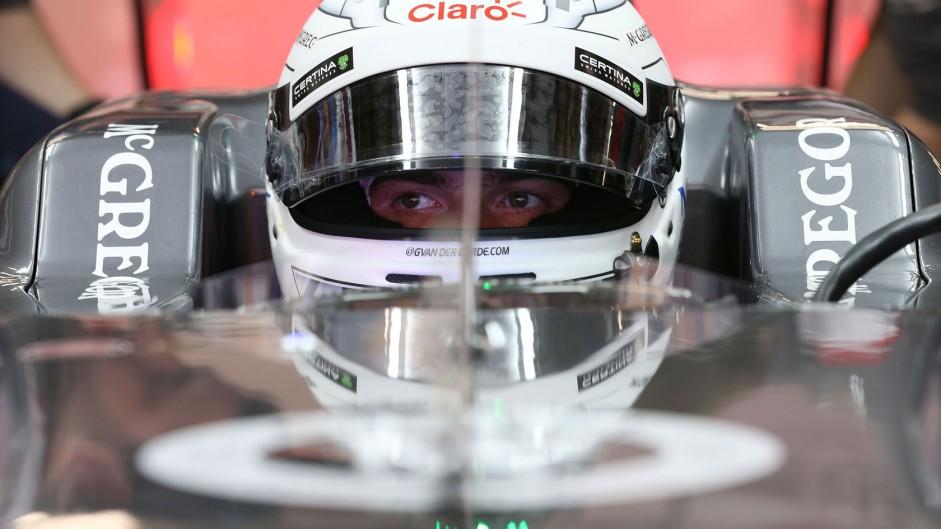 Giedo van der Garde, Sauber, Shanghai International Circuit, 2014