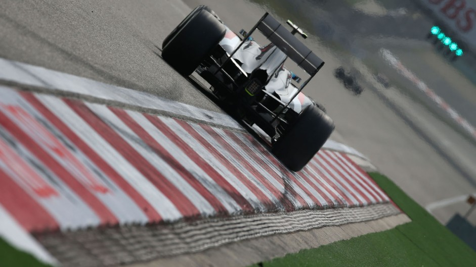 Esteban Gutierrez, Sauber, Shanghai International Circuit, 2014
