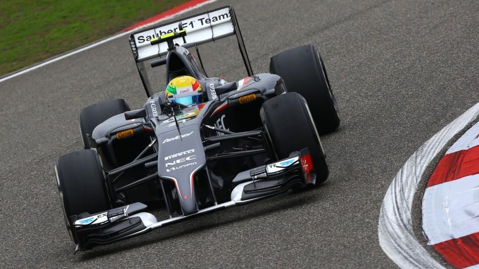 Esteban Gutierrez, Sauber, Shanghai International Circuit, 2014