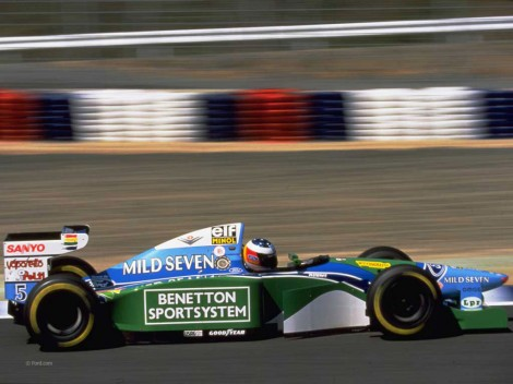 Michael Schumacher, Benetton, TI AIda, 1994