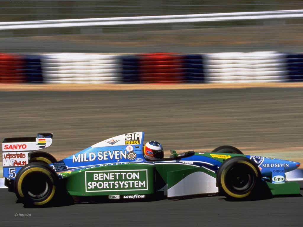 Michael Schumacher, Benetton, TI AIda, 1994