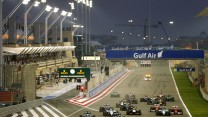 Start, Bahrain Grand Prix, 2014