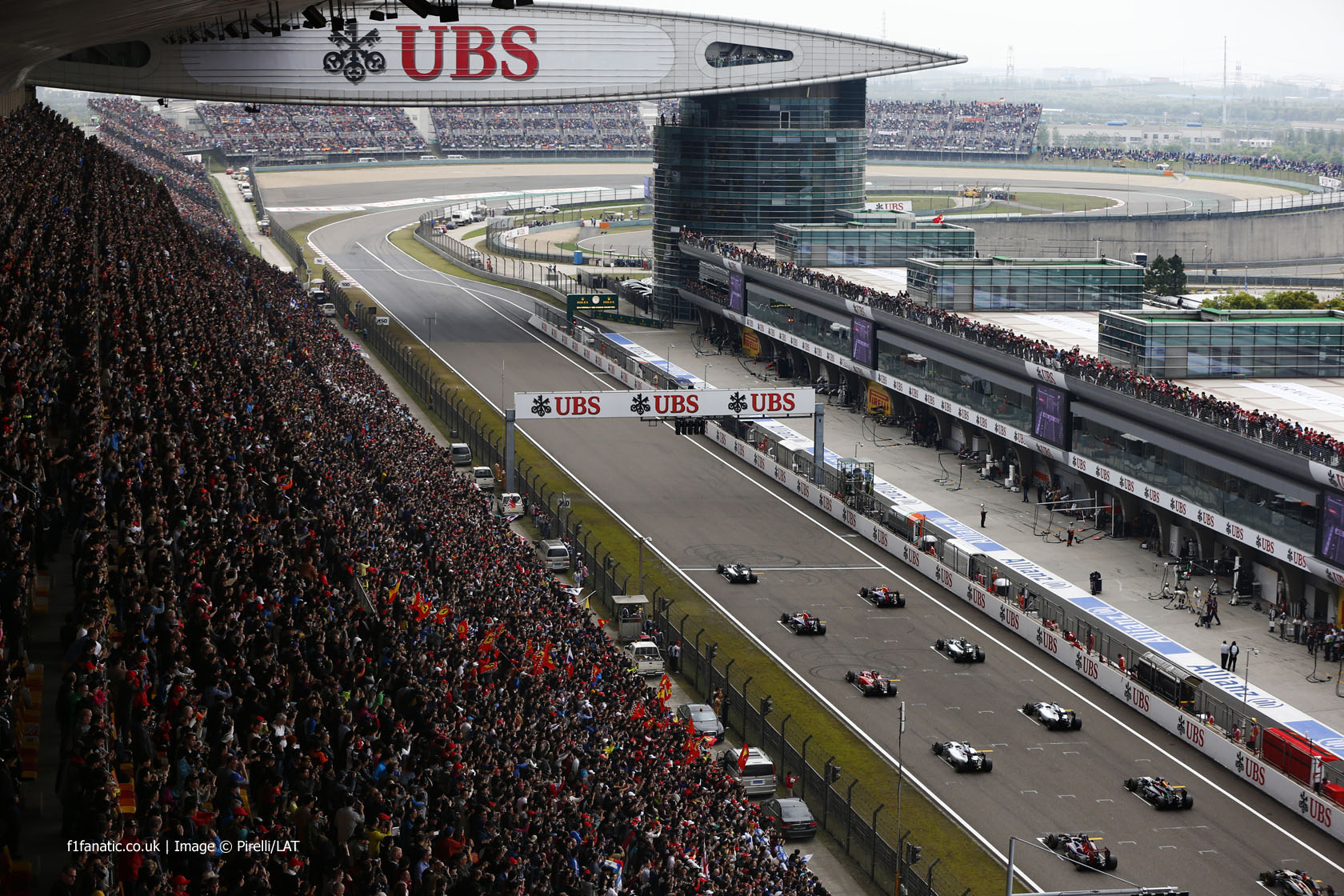 Start, Shanghai International Circuit, 2014