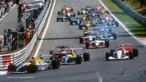 Start, Spa-Francorchamps, 1993
