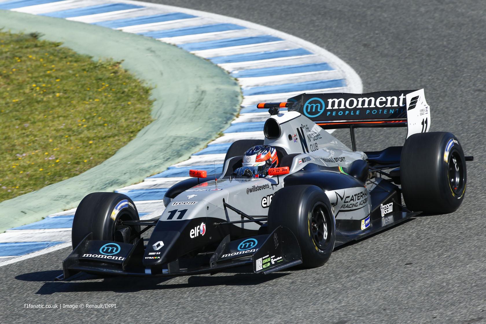 Will Stevens, Strakka, Jerez, 2014