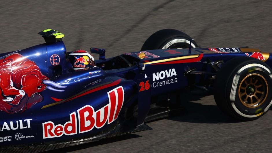 Daniil Kvyat, Toro Rosso, Bahrain International Circuit, 2014