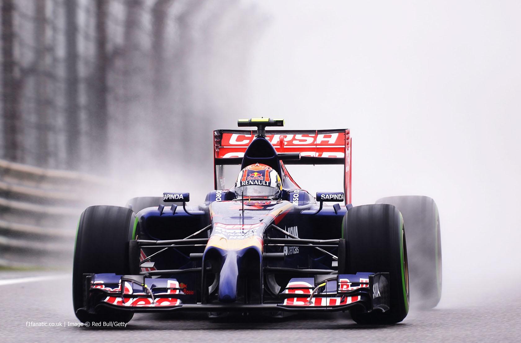 Daniil Kvyat, Toro Rosso, Shanghai International Circuit, 2014