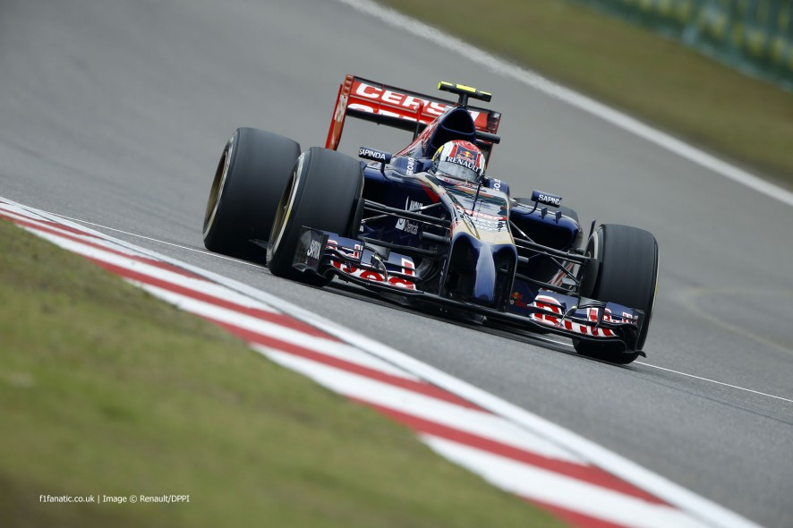 Daniil Kvyat, Toro Rosso, Shanghai International Circuit, 2014