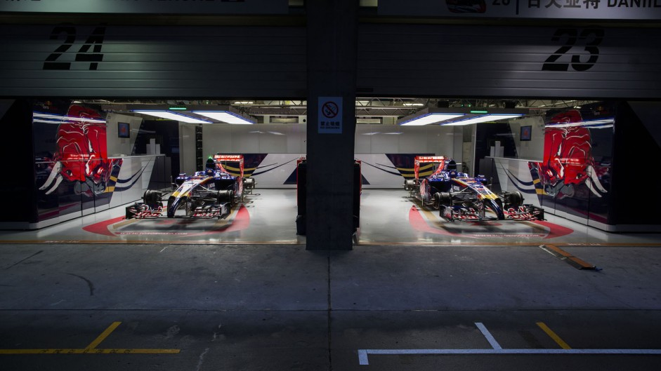 Toro Rosso, Shanghai International Circuit, 2014