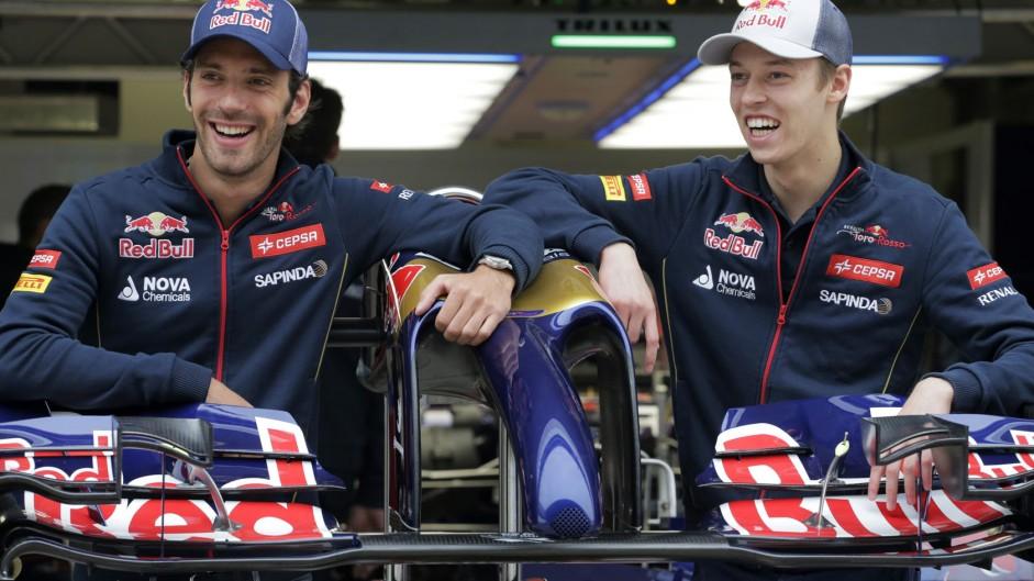 Jean-Eric Vergne, Daniil Kvyat, Toro Rosso, Shanghai International Circuit, 2014