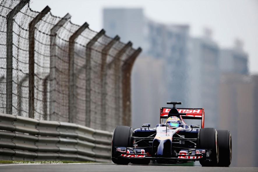 Jean-Eric Vergne, Toro Rosso, Shanghai International Circuit, 2014