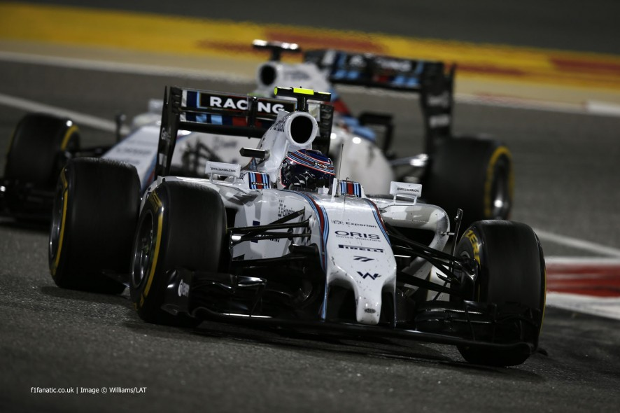 Valtteri Bottas, Williams, Bahrain International Circuit, 2014