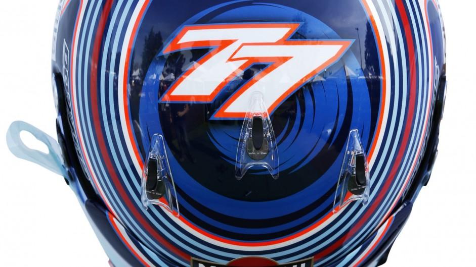 Valtteri Bottas, Williams, helmet, 2014