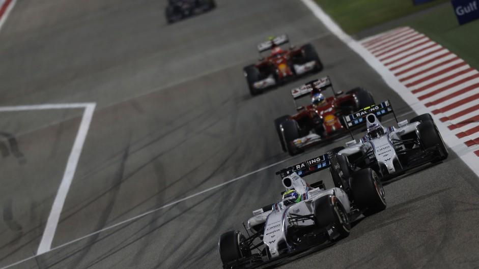 Felipe Massa, Williams, Bahrain International Circuit, 2014