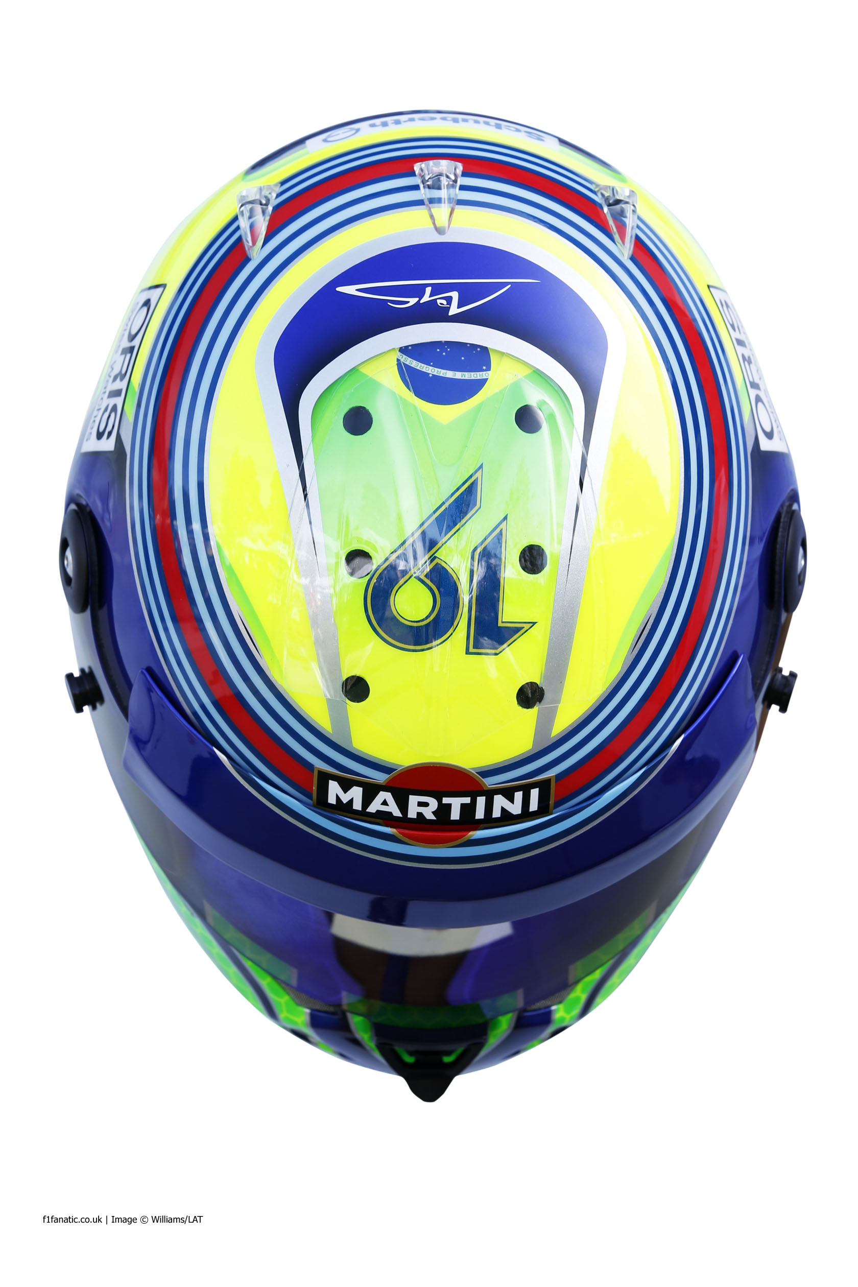 Felipe Massa, Williams, helmet, 2014