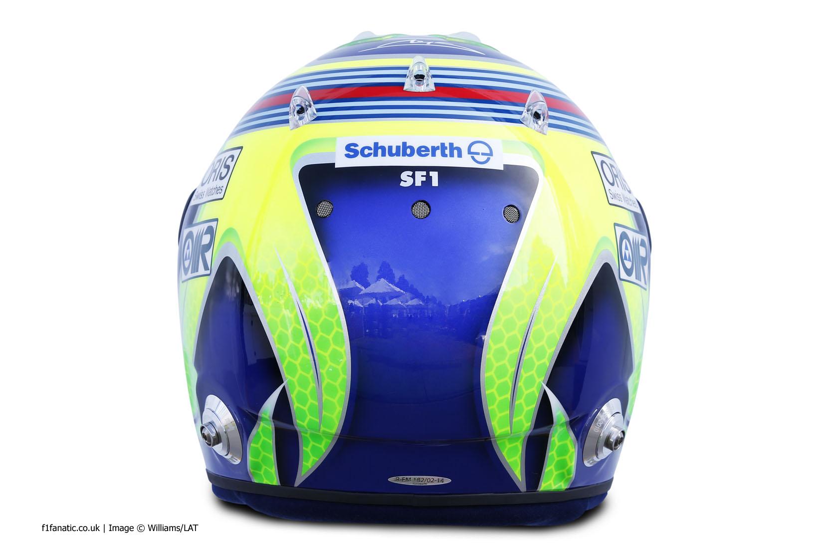 Felipe Massa, Williams, helmet, 2014