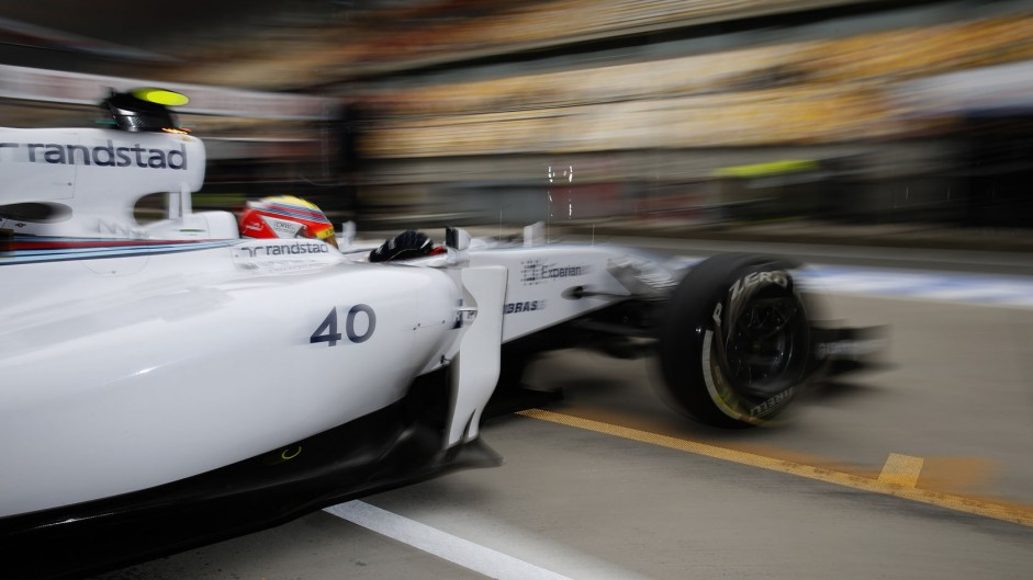 Felipe Nasr, Williams, Shanghai International Circuit, 2014