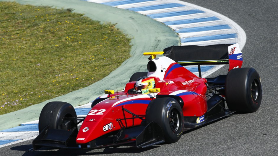 Live: Formula Renault 3.5 Nurburgring race one