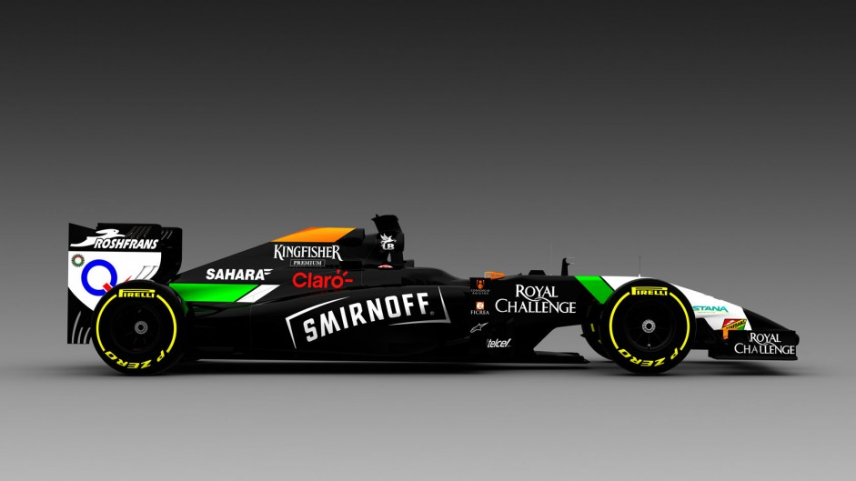 Force India confirms Smirnoff sponsorship deal