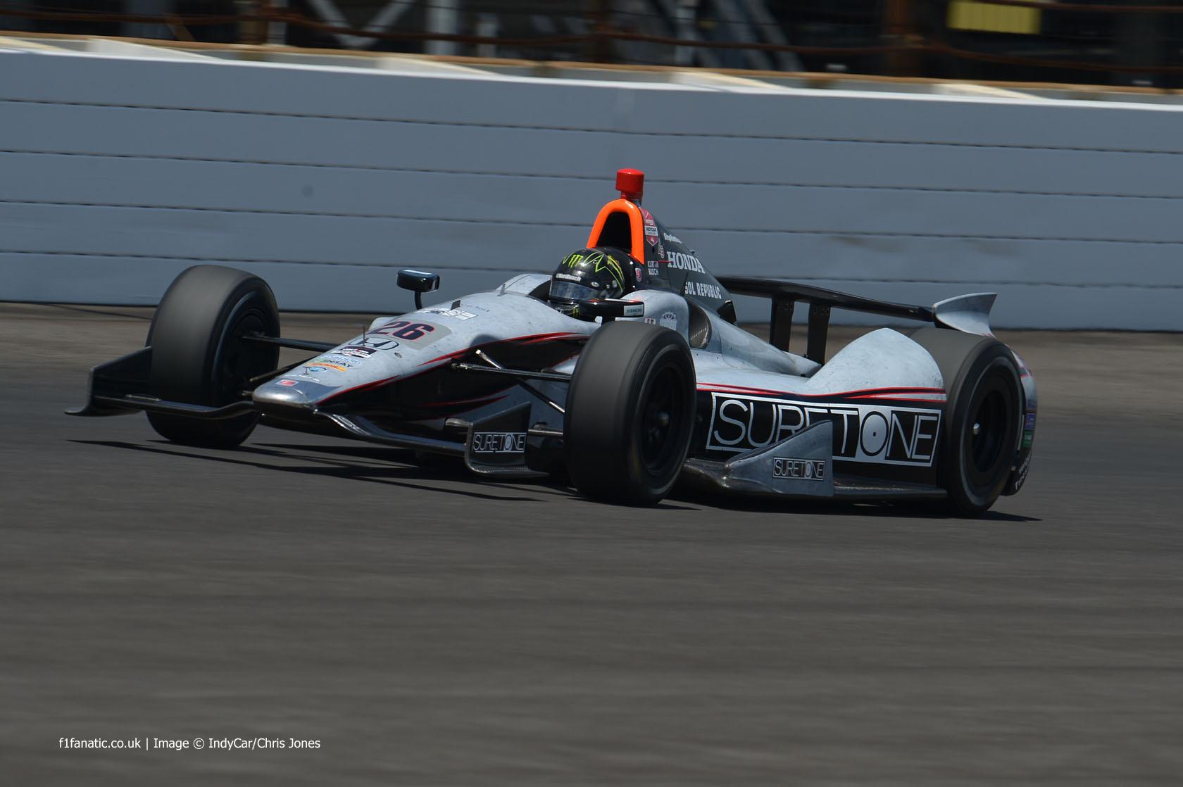 Kurt Busch, Andretti, Indianapolis, 2014