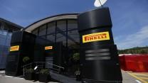 Pirelli motorhome, Circuit de Catalunya, 2014