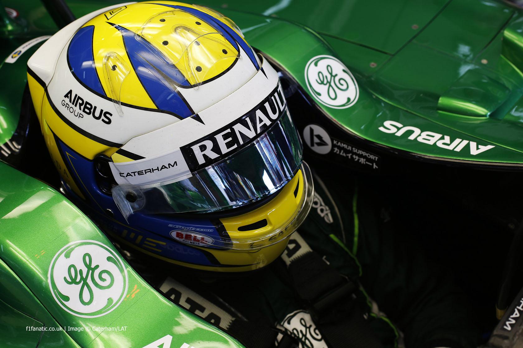 Marcus Ericsson, Caterham, Circuit de Catalunya, 2014