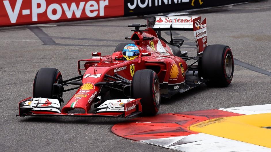 Fernando Alonso, Ferrari, Monte-Carlo, 2014