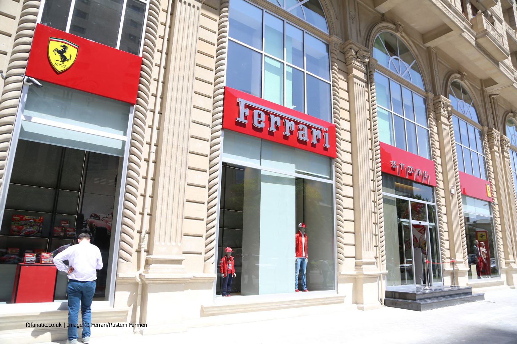 Ferrari dealership, Baku, 2014