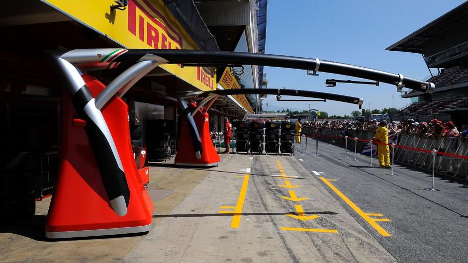 Ferrari, Circuit de Catalunya, 2014