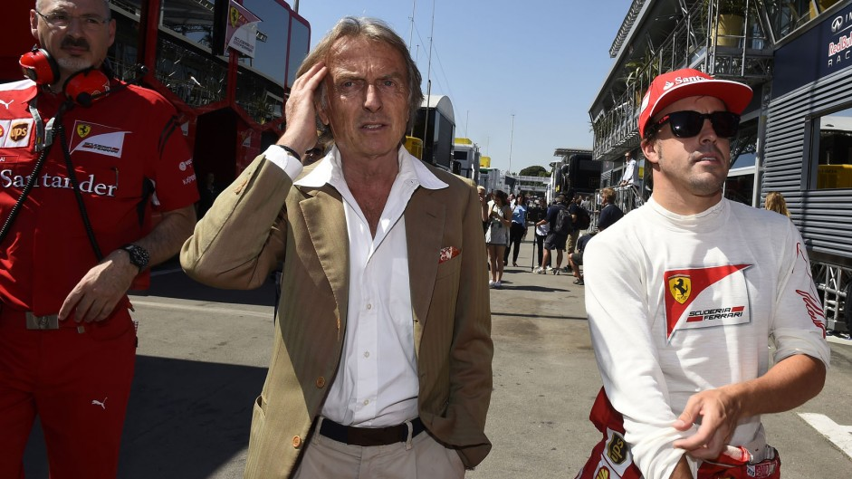 "Montezemolo heaps praise on ""best driver"" Alonso"