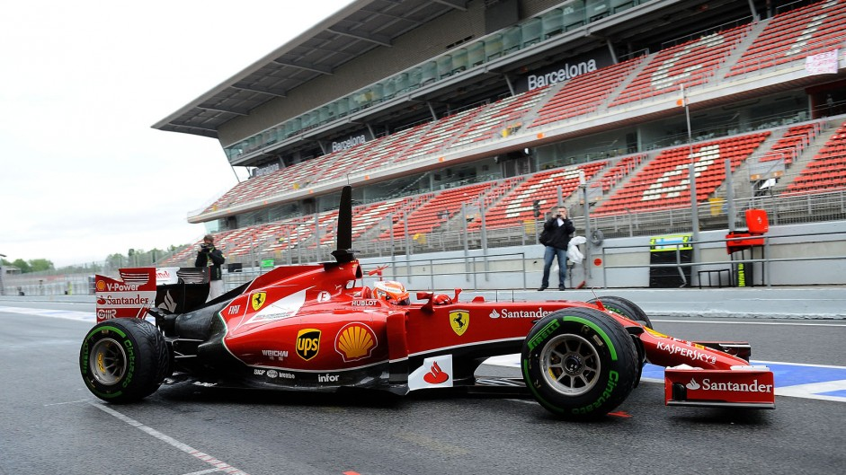 Ferrari making gains with F14 T – Raikkonen