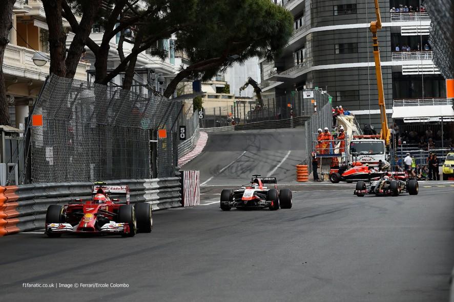 Kimi Raikkonen, Ferrari, Monte-Carlo, 2014
