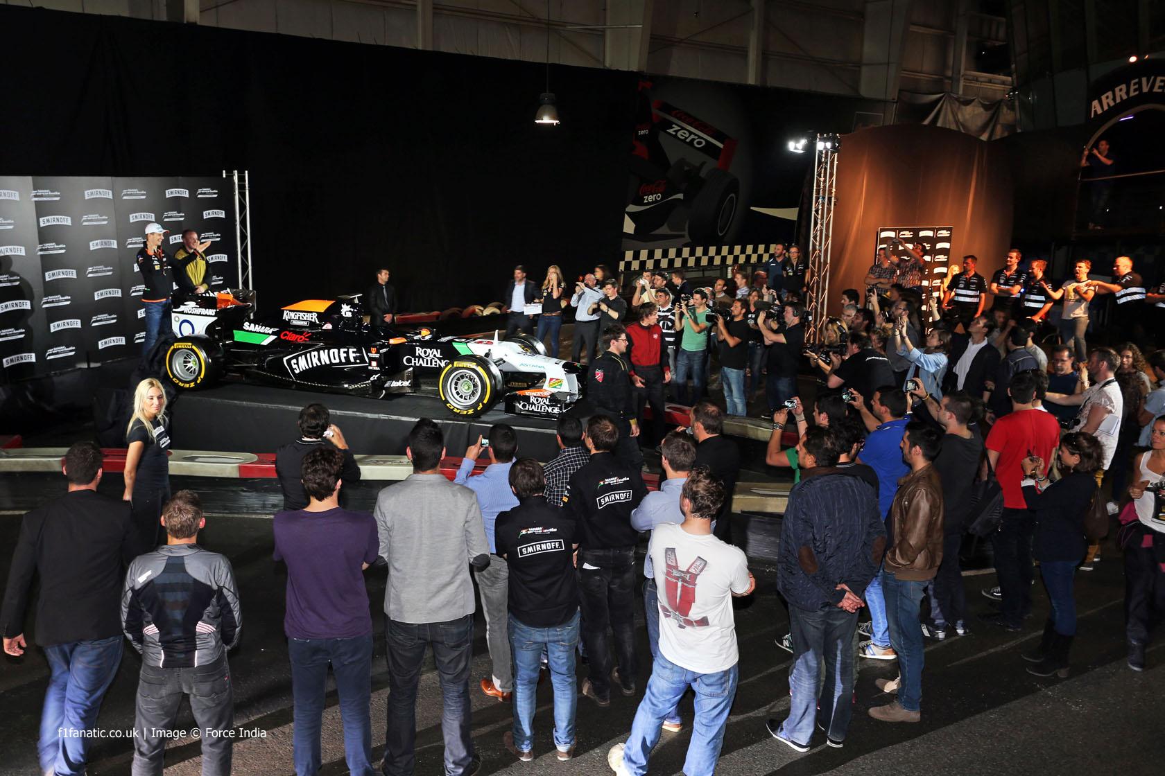 Nico Hulkenberg, Force India, 2014