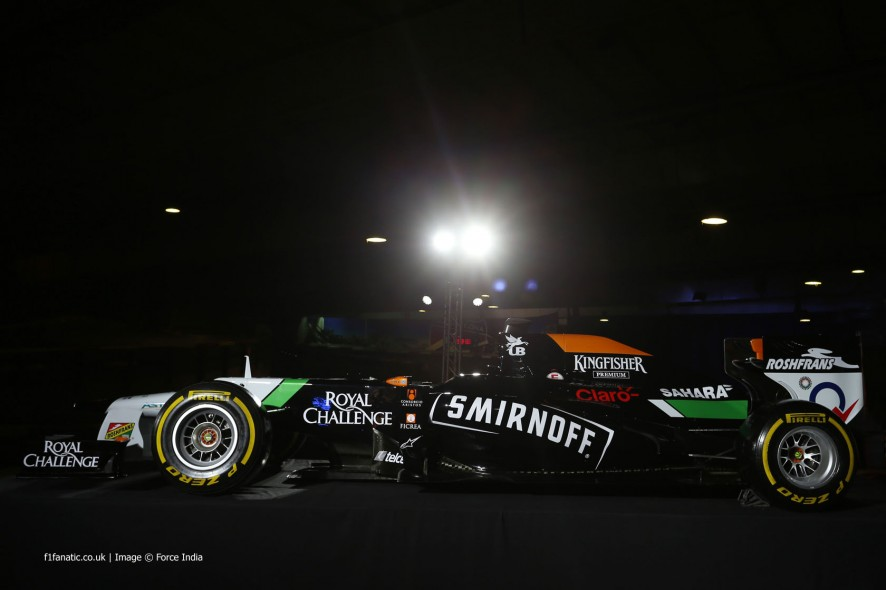 Force India, 2014