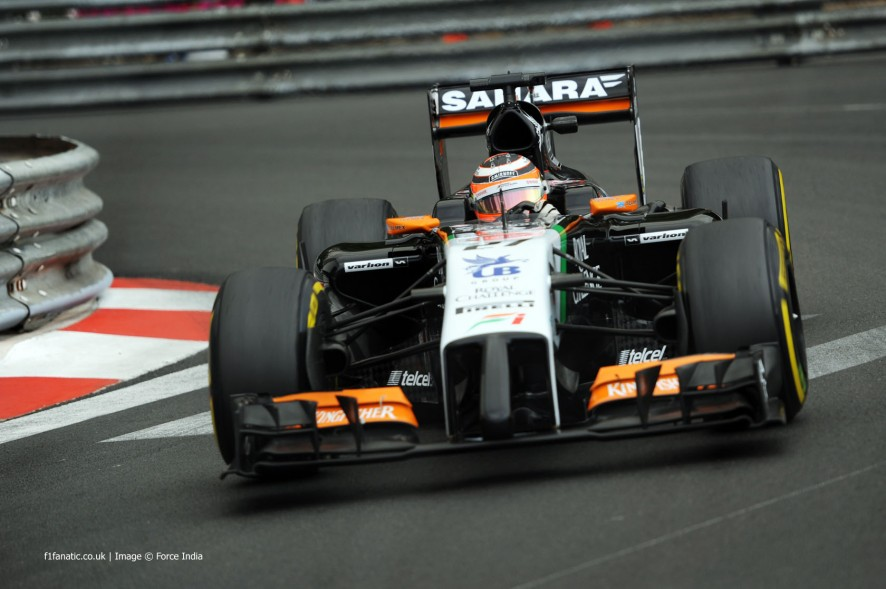 Nico Hulkenberg, Force India, Monte-Carlo, 2014