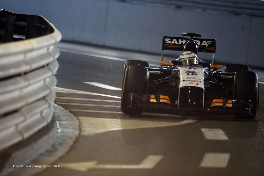 Sergio Perez, Force India, Monte-Carlo, 2014
