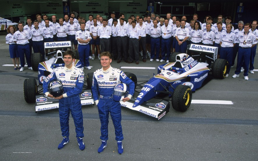 Damon Hill, David Coulthard, Williams, Circuit de Catalunya, 1994