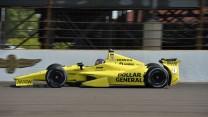 Jacques Villeneuve, Schmidt, Indianapolis, 2014