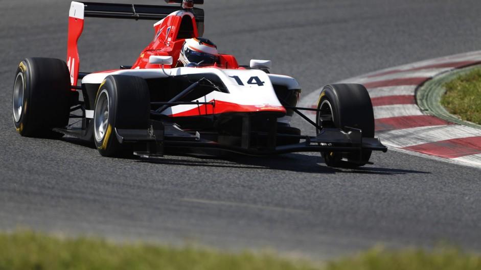 Patrick Kujala, Marussia Manor, GP3, Circuit de Catalunya, 2014