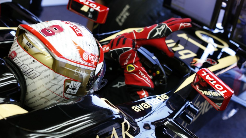 Romain Grosjean, Lotus, Monte-Carlo, 2014