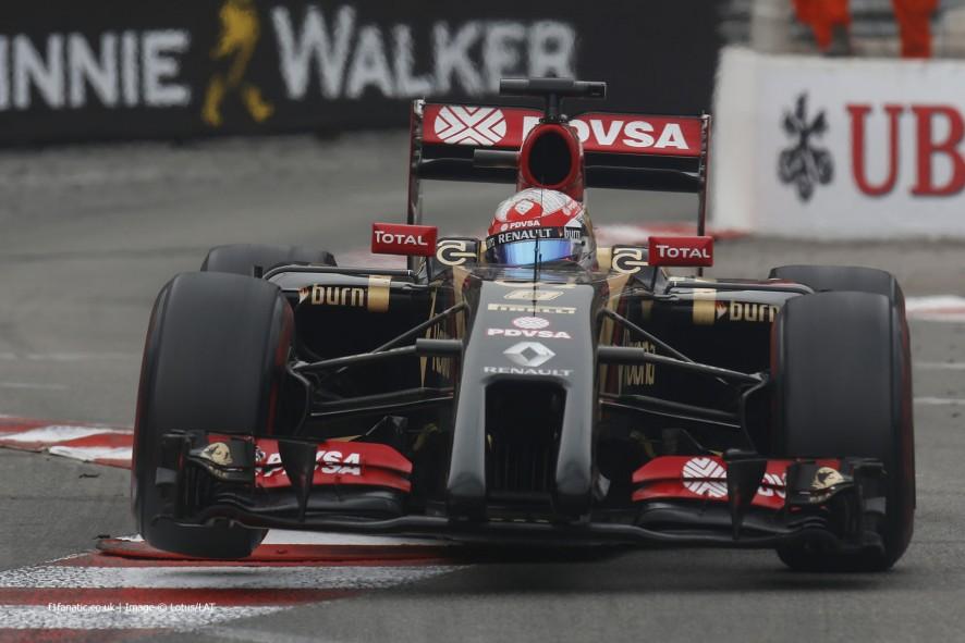 Romain Grosjean  Lotus  Monte