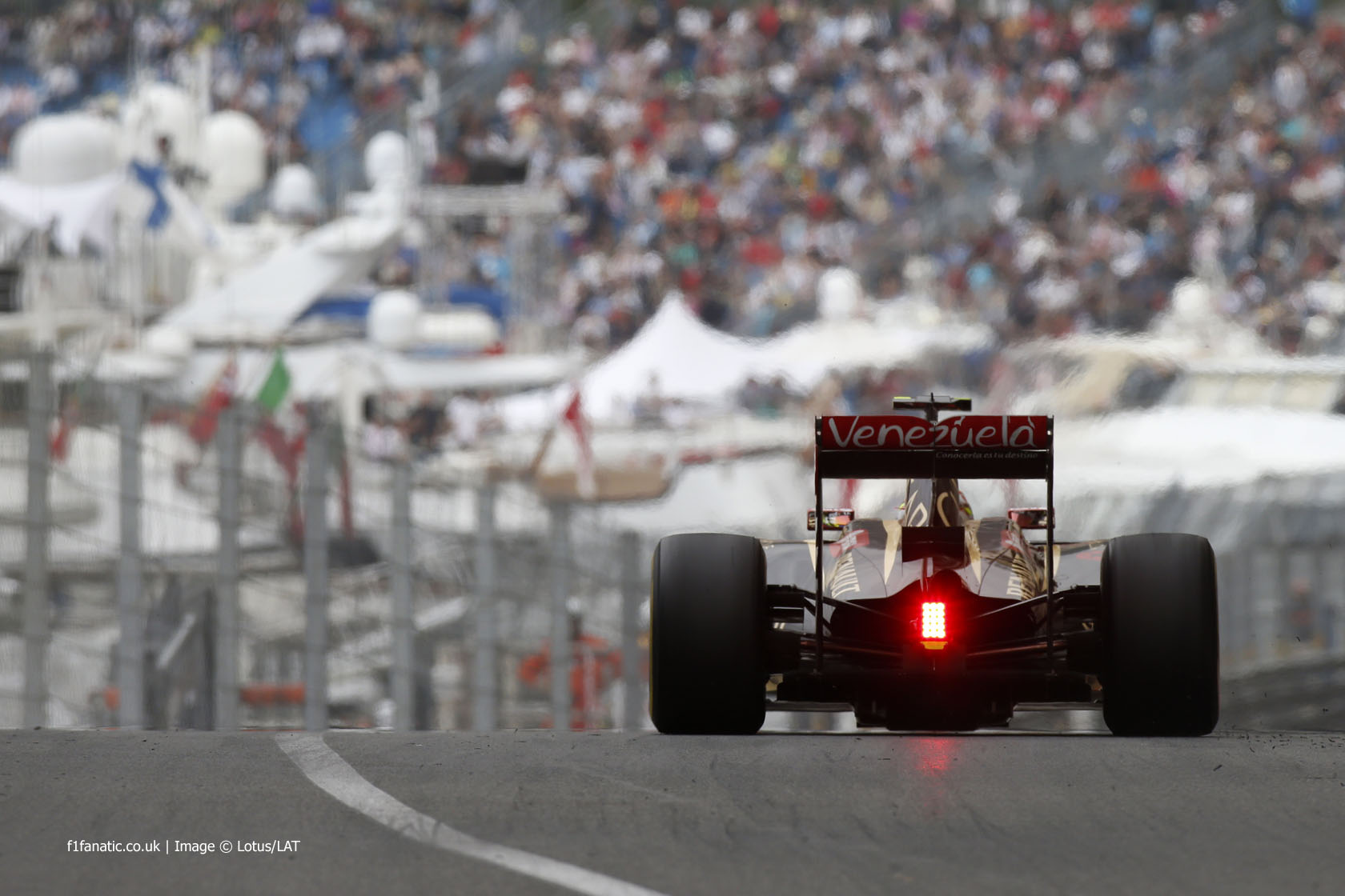 Pastor Maldonado, Lotus, Monte-Carlo, 2014