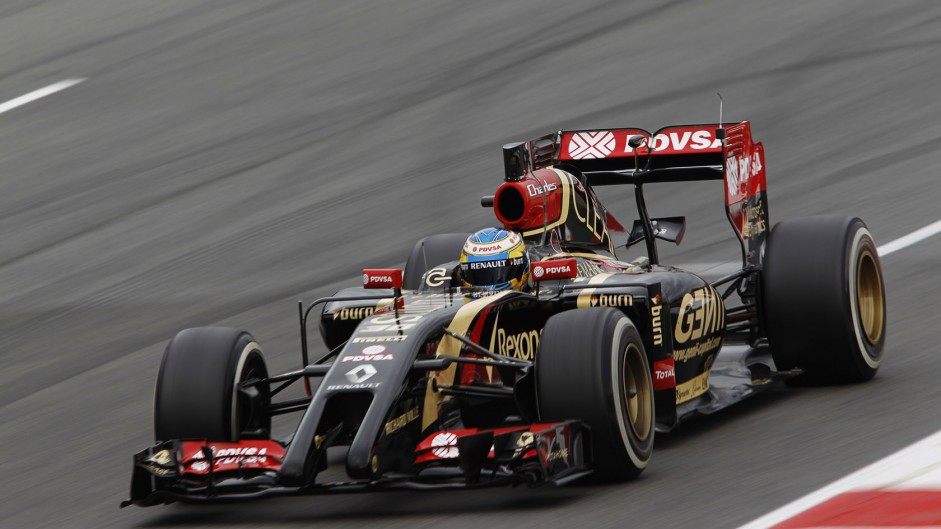 Pic to have first practice run for Lotus