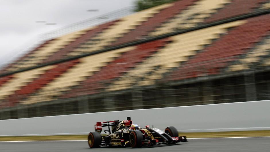 Charles Pic, Lotus, Circuit de Catalunya, 2014